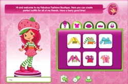 Strawberry shortcake dress-up