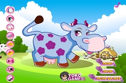 Cow dress-up